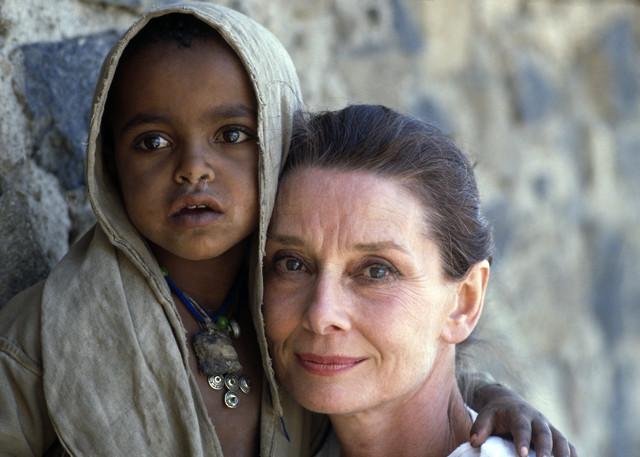 Working For Unicef Audrey Hepburn